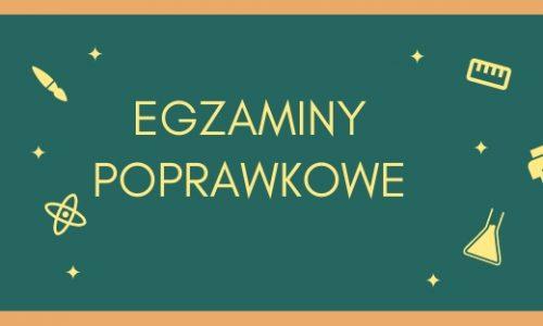 EGZAMINY POPRAWKOWE 2