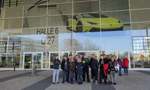 Uczniowie z Mechanika na wymianie uczniowskiej w Gelsenkirchen