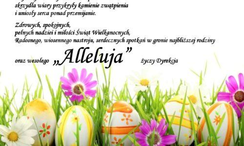 Życzenie z okazji Świąt Wielkanocnych