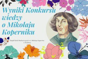 Wyniki konkursu o patronie szkoły Mikołaju Koperniku